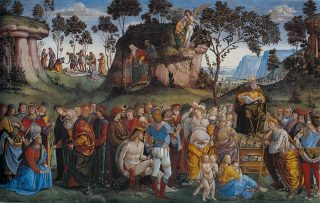 Signorelli,_Luca_-_Moses's_Testament_and_Death_-_1481-82